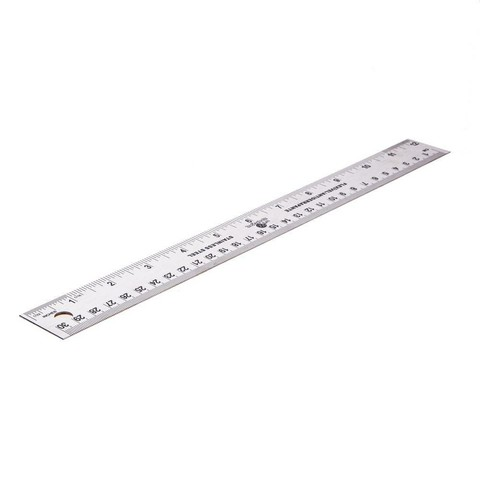 30  cm ruler with flexibility suitable for all levels of  students
