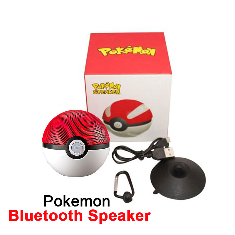 Portable Pokemon Go Design Pokeball Wireless Bluetooth Speaker, BS658