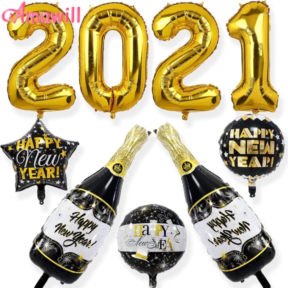 images/products/mainimage0Amawill-2021-Happy-New-Year-Champagne-Wine-Bottle-Balloon-Party-Decor-Star-Round-Foil-Balloon-Christmas.jpg